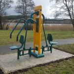 outdoor park exercise equipment