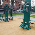 outdoor workout equipment